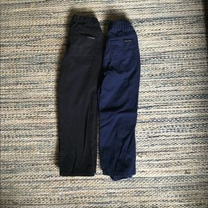 Calvin Klein 4T boys pants. Black and Blue